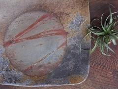[19169]正方たたき皿(伊勢崎紳)価格:9,720円
