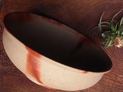 [19209]火襷鉢(高力芳照)
