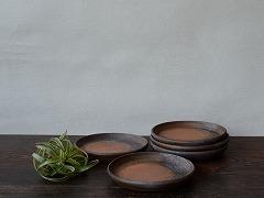 [21216]銅鑼小鉢五枚(伊勢崎紳)